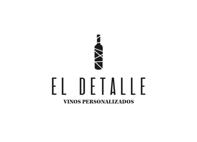 Logotipo | El Detalle - Vinos Personalizados  8
