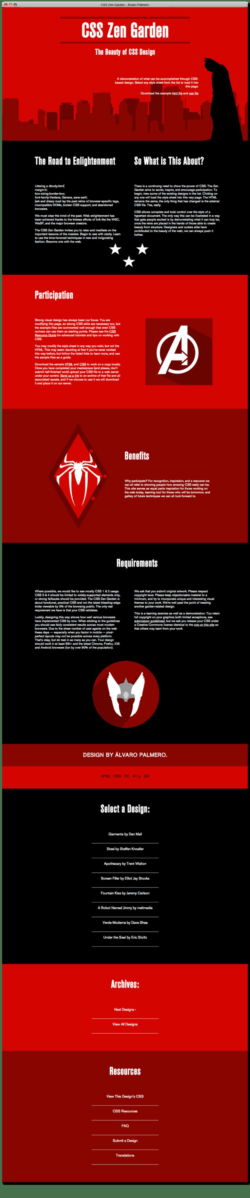 CSS Zen Garden | Diseño y Maquetación Web 1
