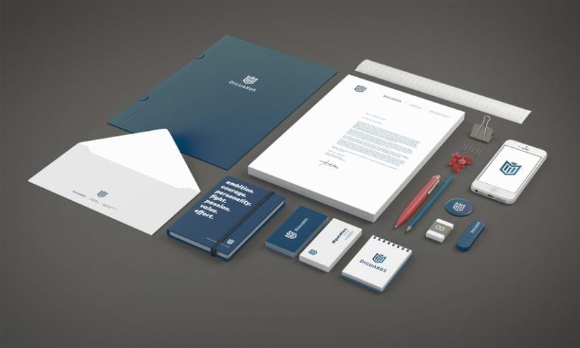 Diguards® - Identidad corporativa + Branding 4