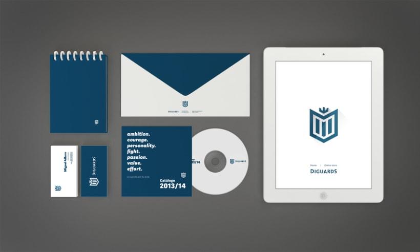 Diguards® - Identidad corporativa + Branding 3