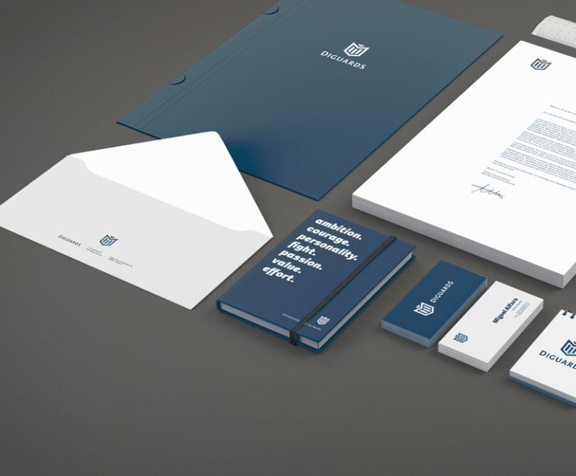 Diguards® - Identidad corporativa + Branding 5