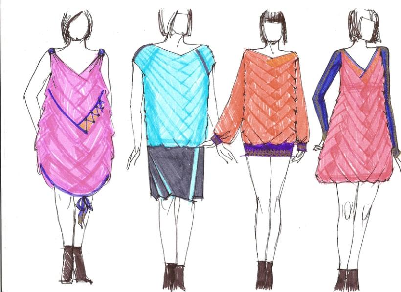 Diseño prendas mujer, tallas L-XL-XXL -1