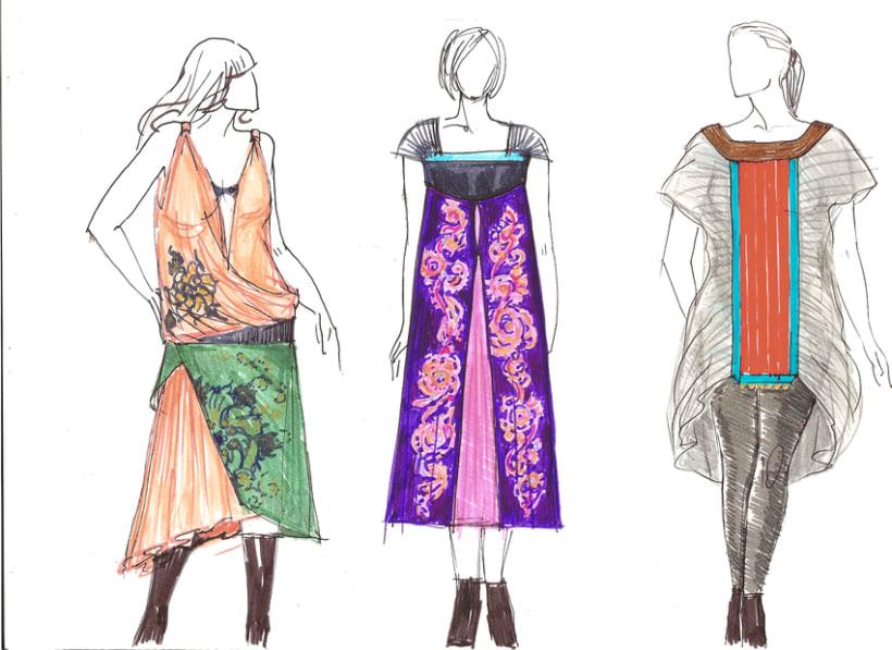 Diseño prendas mujer, tallas L-XL-XXL 0