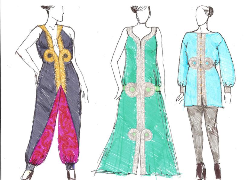 Diseño prendas mujer, tallas L-XL-XXL 1