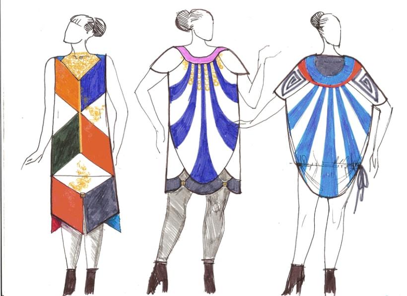 Diseño prendas mujer, tallas L-XL-XXL 2