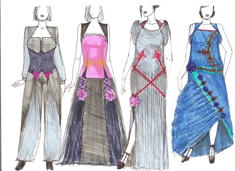 Diseño prendas mujer, tallas L-XL-XXL 5