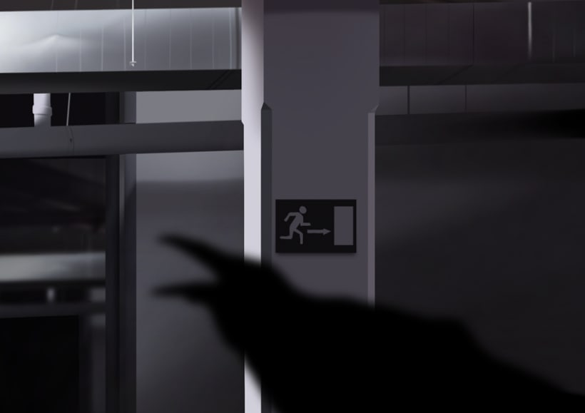 Envidia - Pintura digital realizada con los dedos en el Ipad 6