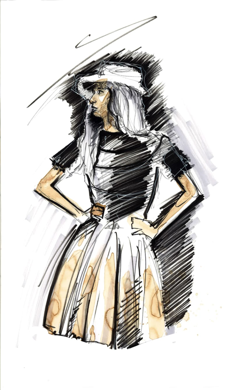 fashion illustration 7