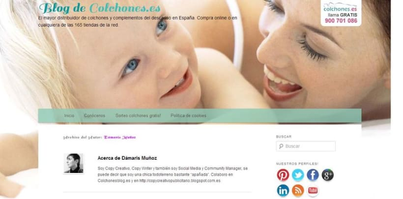 Redacción de post para blog Colchonesblog.es del grupo Muebles Ventura 0