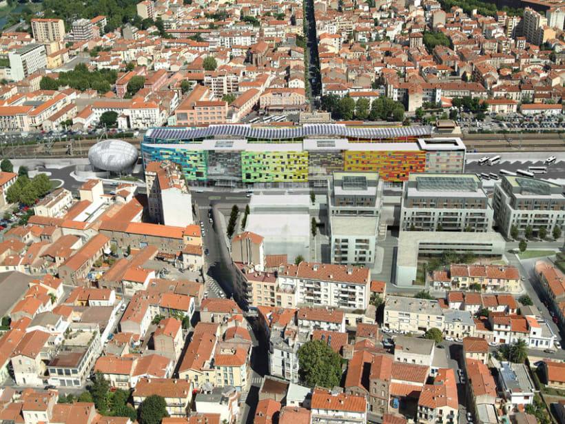 Centro comercial. Perpignan, Francia -1