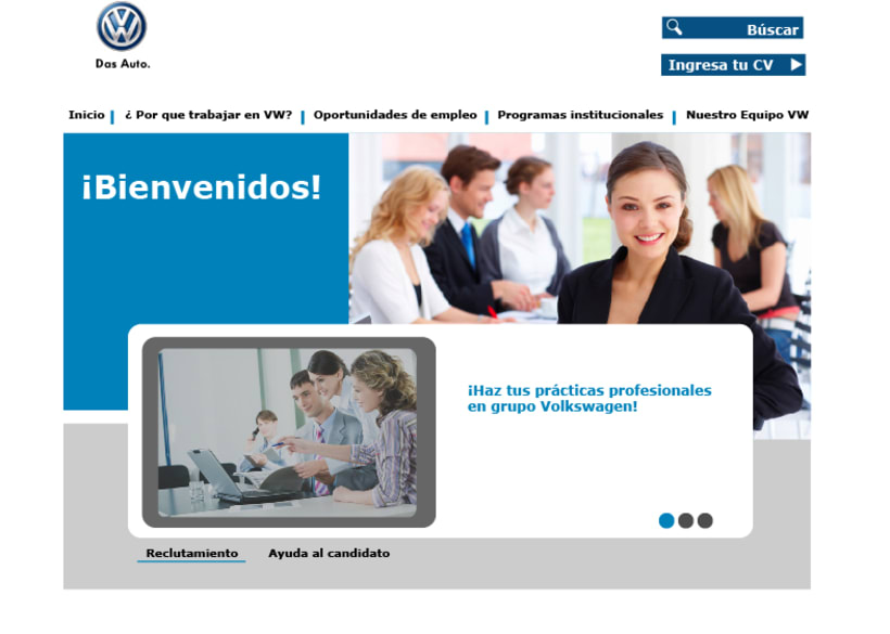 Diseño web VW Puebla 0