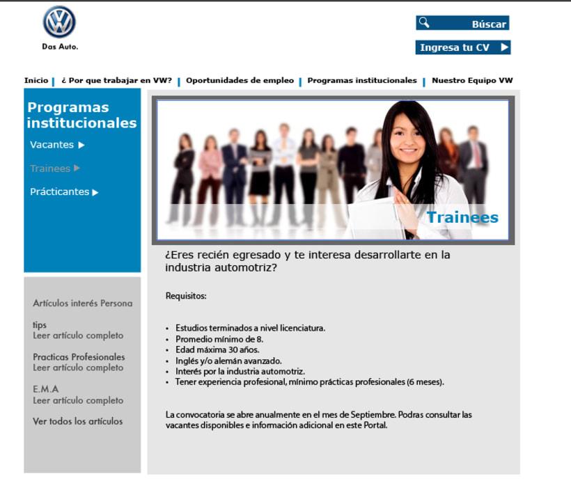 Diseño web VW Puebla 2