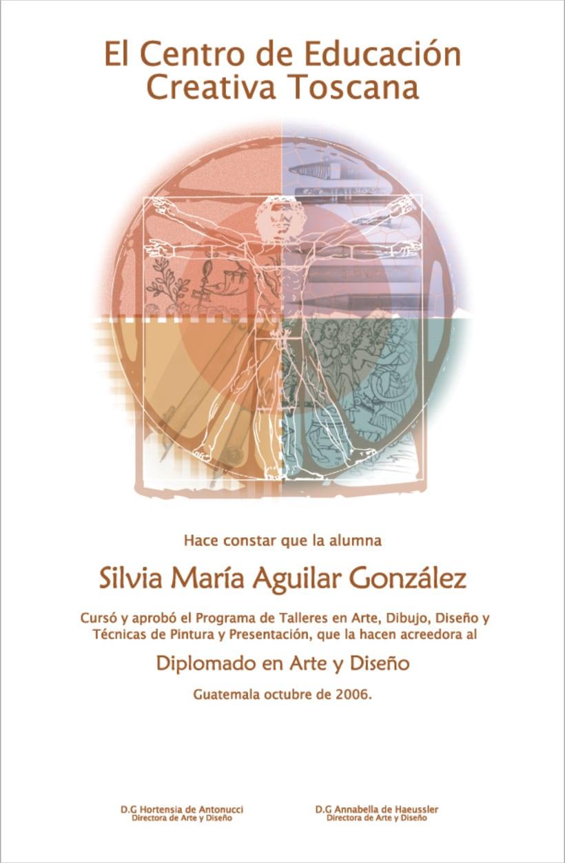 TOSCANA, academy of art and school of desig: design and illustrator. -1