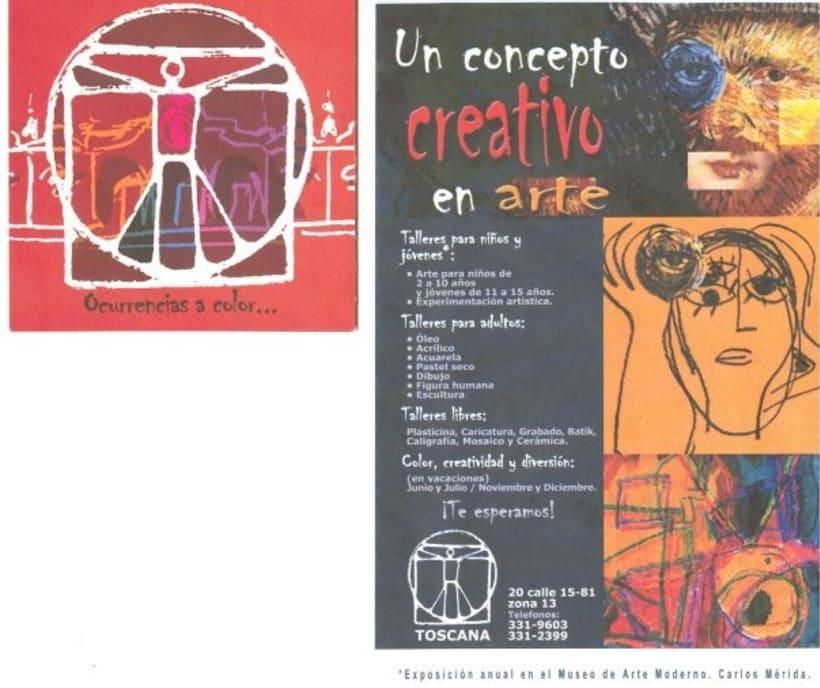 TOSCANA, academy of art and school of desig: design and illustrator. 1