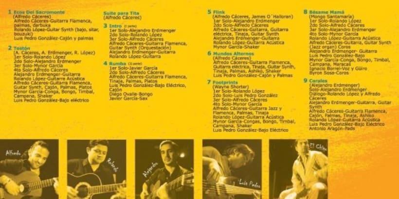 SIROCO jazz group: design of cd book. 1
