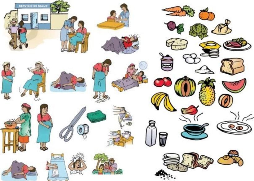 Vectorial illustrations 1