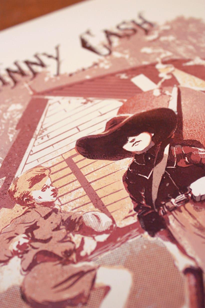 Johnny Cash - Poster commemorativo 2