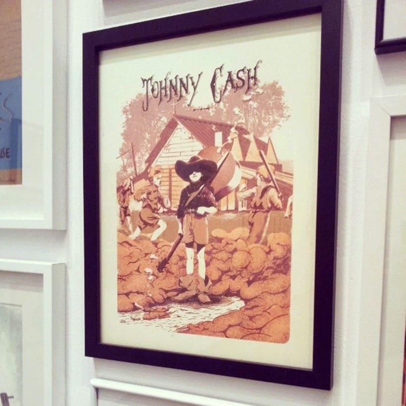Johnny Cash - Poster commemorativo 6