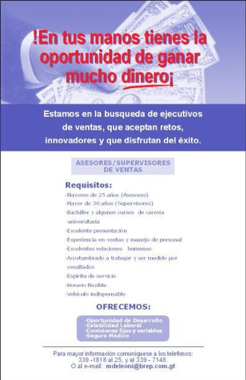 Banco de la Republica: Several print design. 2