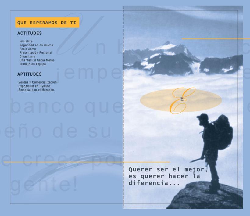 Banco de la Republica: Several print design. 1