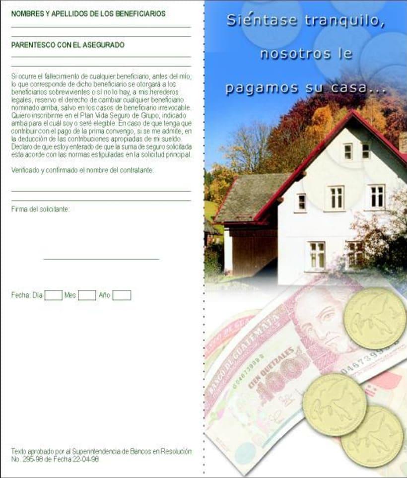 Banco de la Republica: Several print design. 7