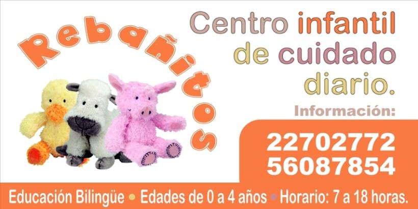 REBAÑITOS, Child care center: design. -1