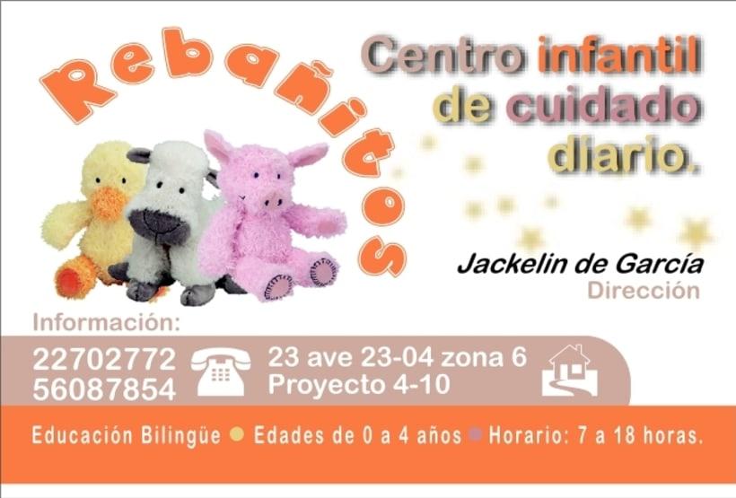 REBAÑITOS, Child care center: design. 0