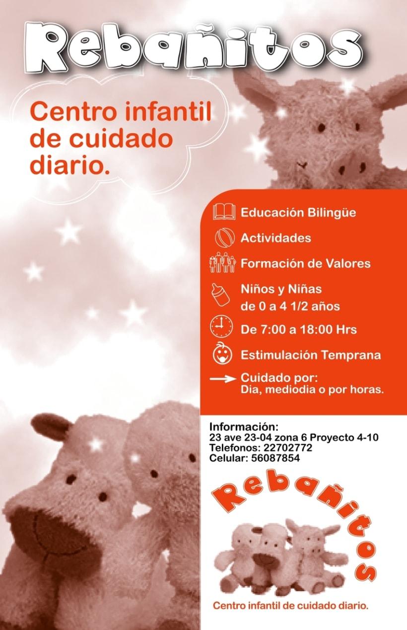 REBAÑITOS, Child care center: design. 1