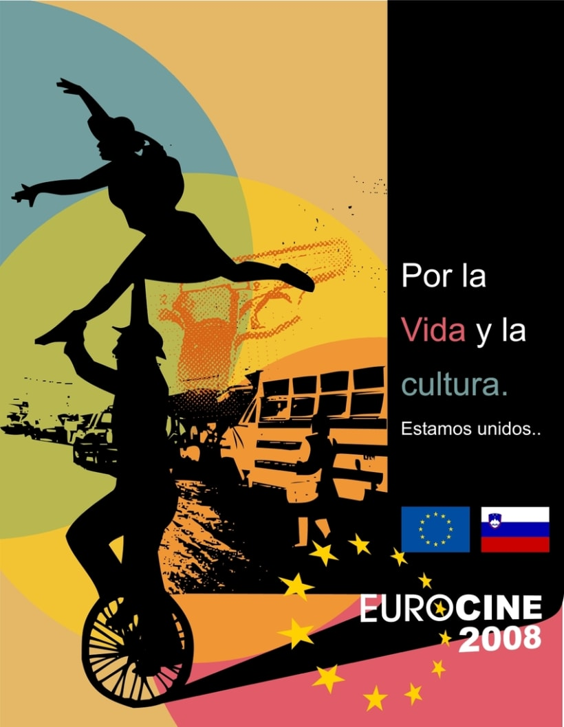 Eurocine - Guatemala 2008: Image design and advertising campaign (1st part) -1