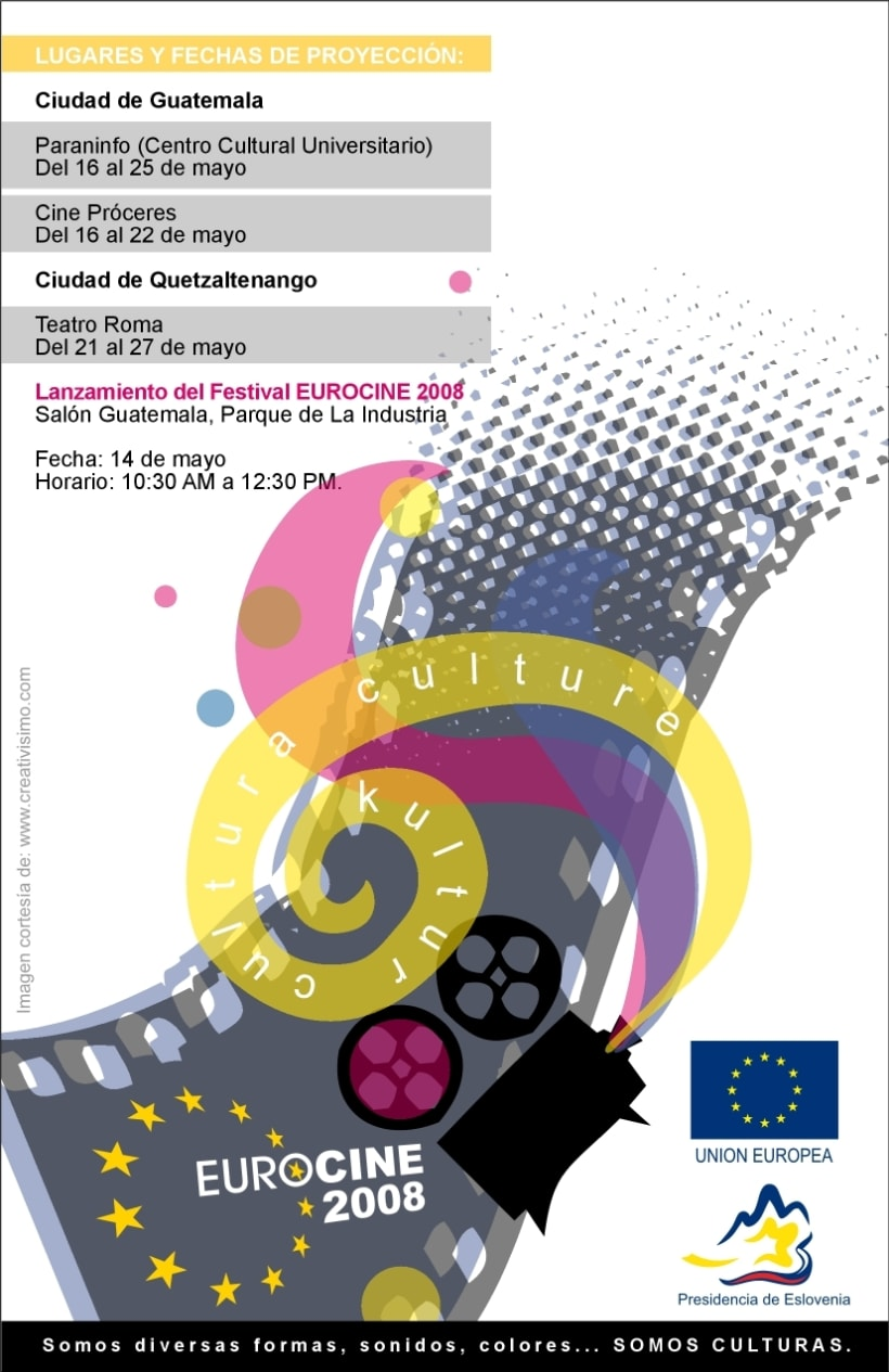 Eurocine - Guatemala 2008: Image design and advertising campaign (1st part) 2