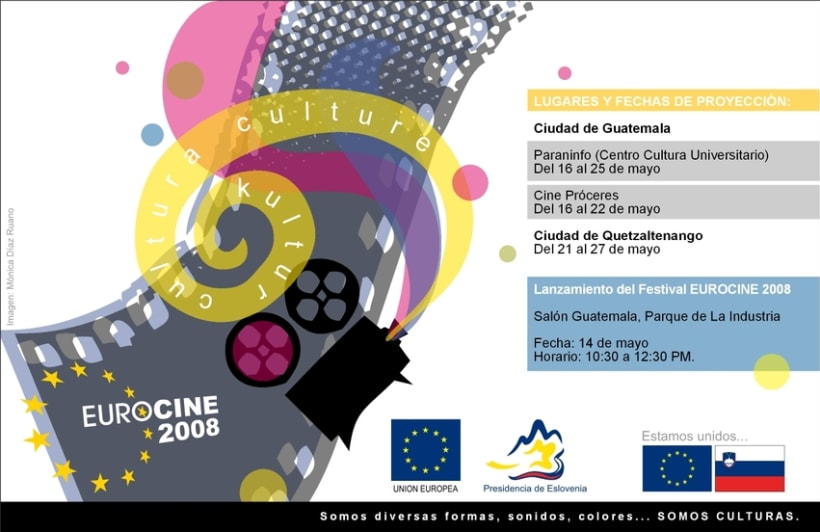 Eurocine - Guatemala 2008: Image design and advertising campaign (1st part) 3