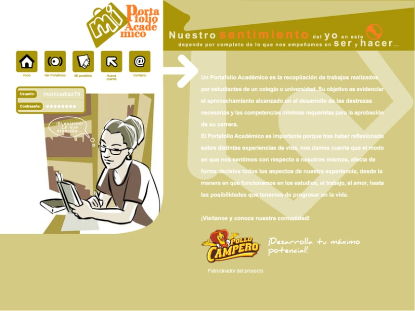 Project GEATEC: image and web design 3