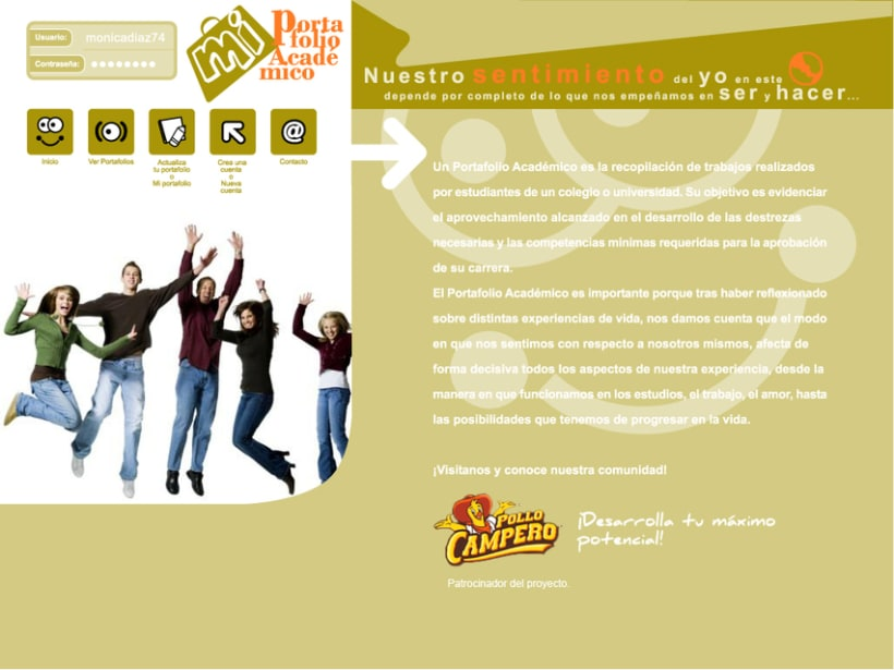 Project GEATEC: image and web design 4