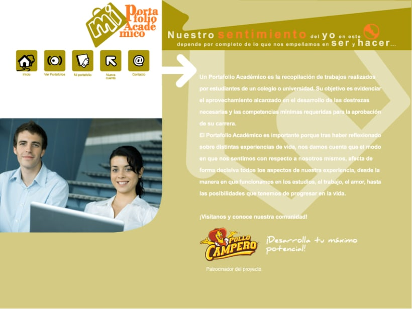Project GEATEC: image and web design 7