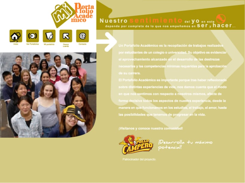 Project GEATEC: image and web design 8