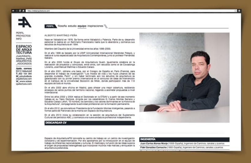 Web Corporativa EA Espacio de Arquitectura 0