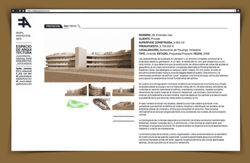 Web Corporativa EA Espacio de Arquitectura 1