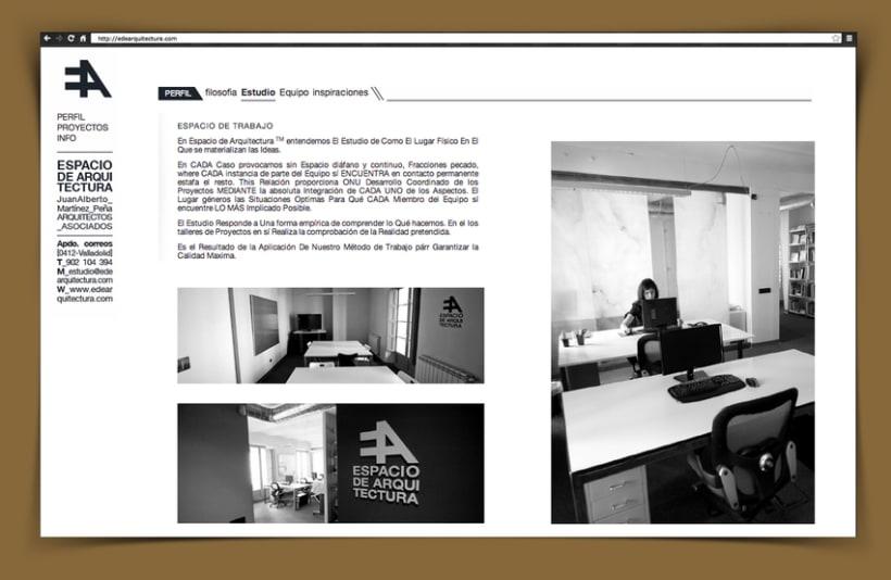 Web Corporativa EA Espacio de Arquitectura 2