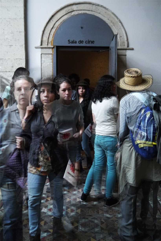 Registro fotográfico Gira de cine documantal Ambulante 2
