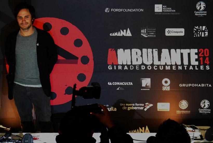 Registro fotográfico Gira de cine documantal Ambulante 9