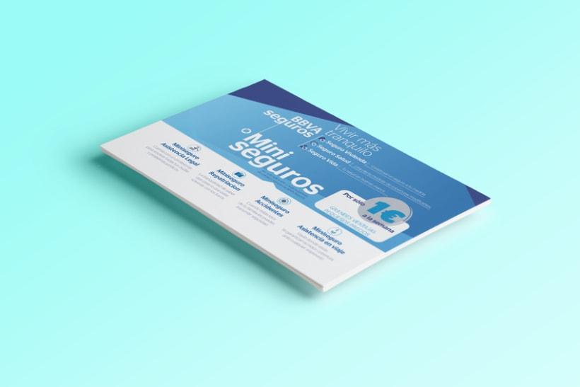 "Flyer BBVA | Campaña ""Miniseguros"" 1"