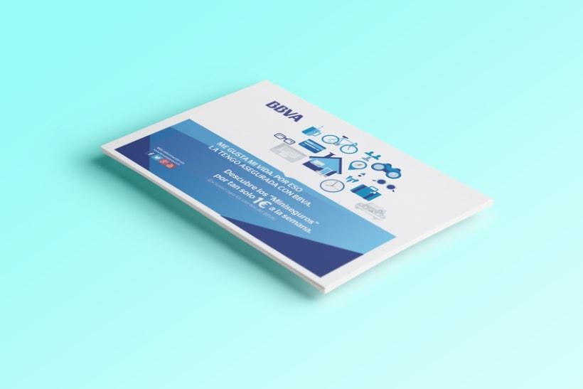 "Flyer BBVA | Campaña ""Miniseguros"" 0"