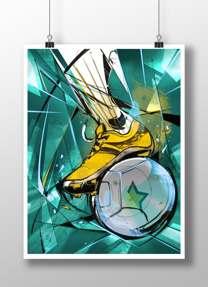 God Of Sport Illustrations 0