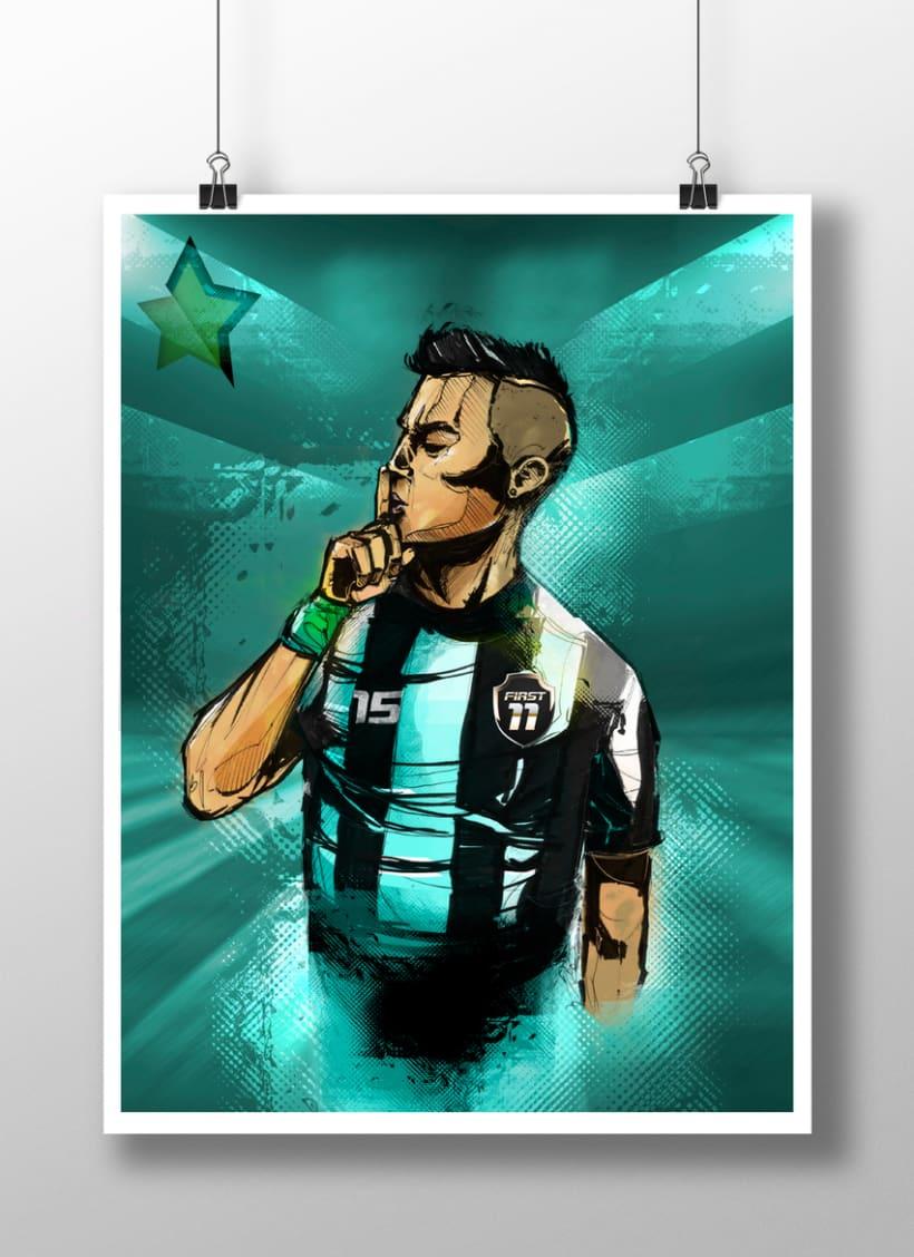 God Of Sport Illustrations 2