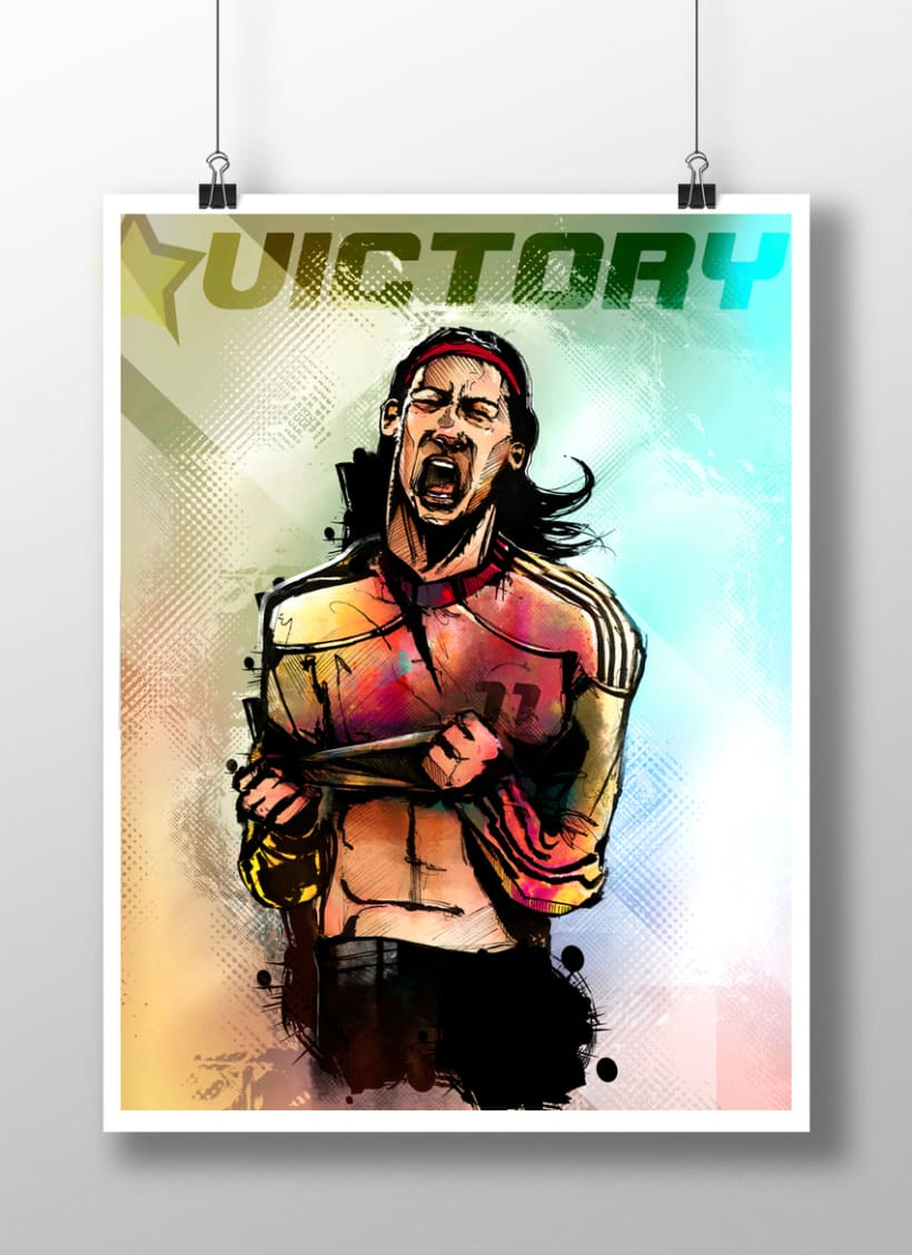 God Of Sport Illustrations 1