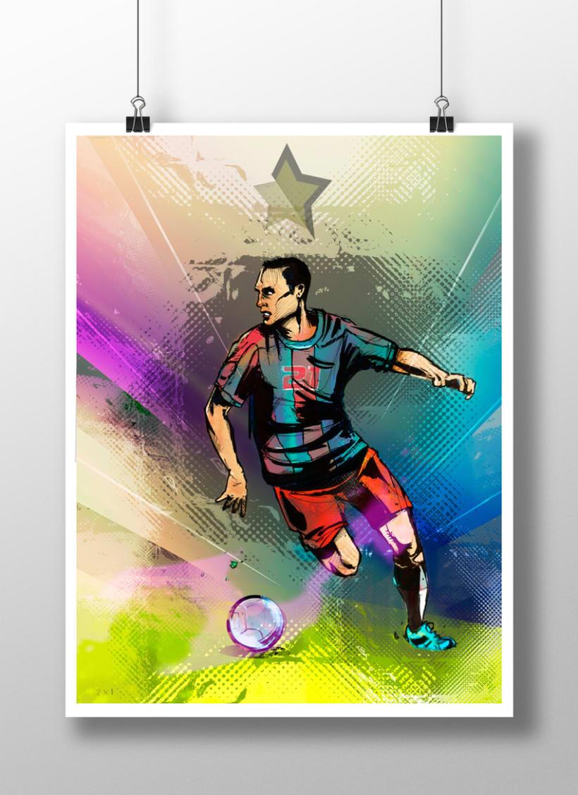 God Of Sport Illustrations 3