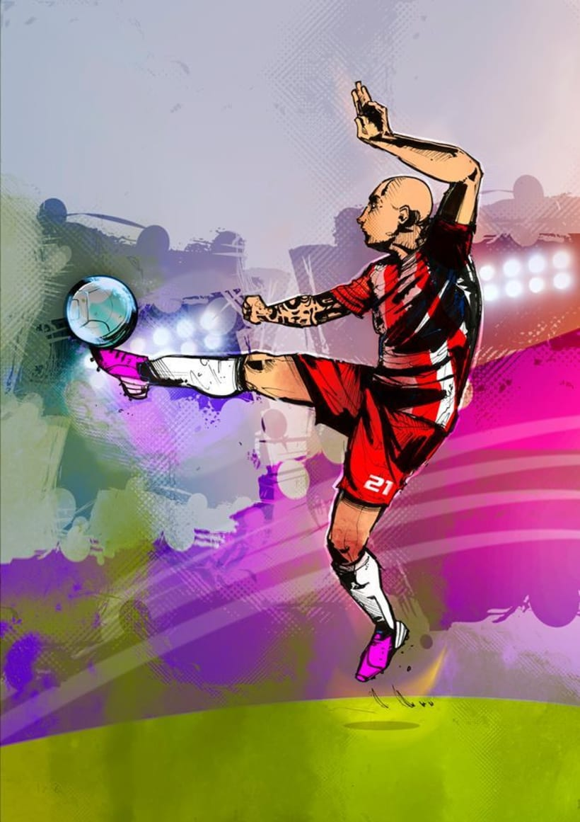 God Of Sport Illustrations 4