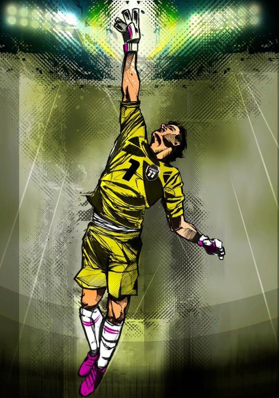 God Of Sport Illustrations 5