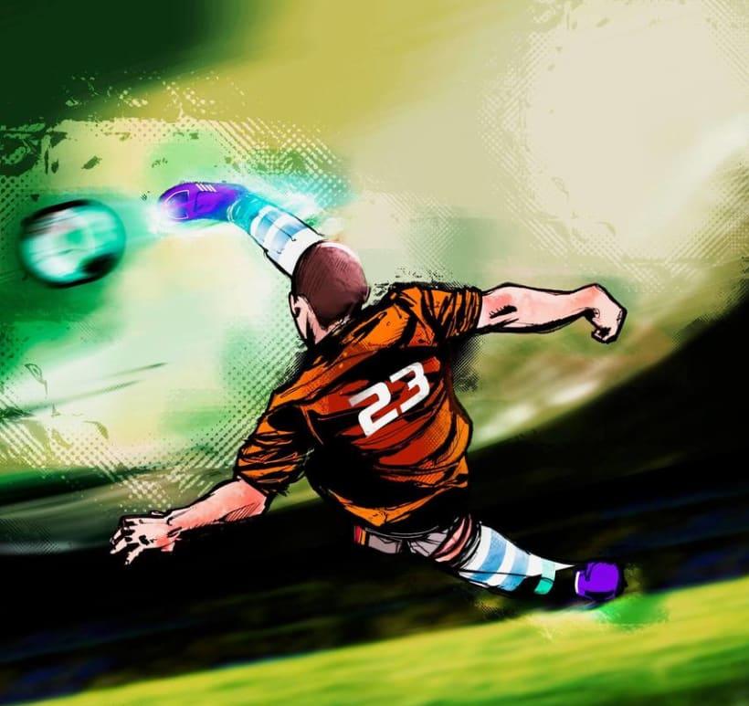 God Of Sport Illustrations 6