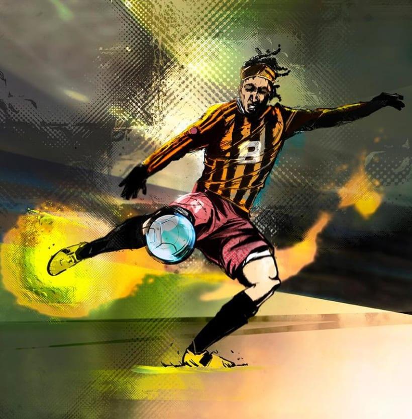 God Of Sport Illustrations 7